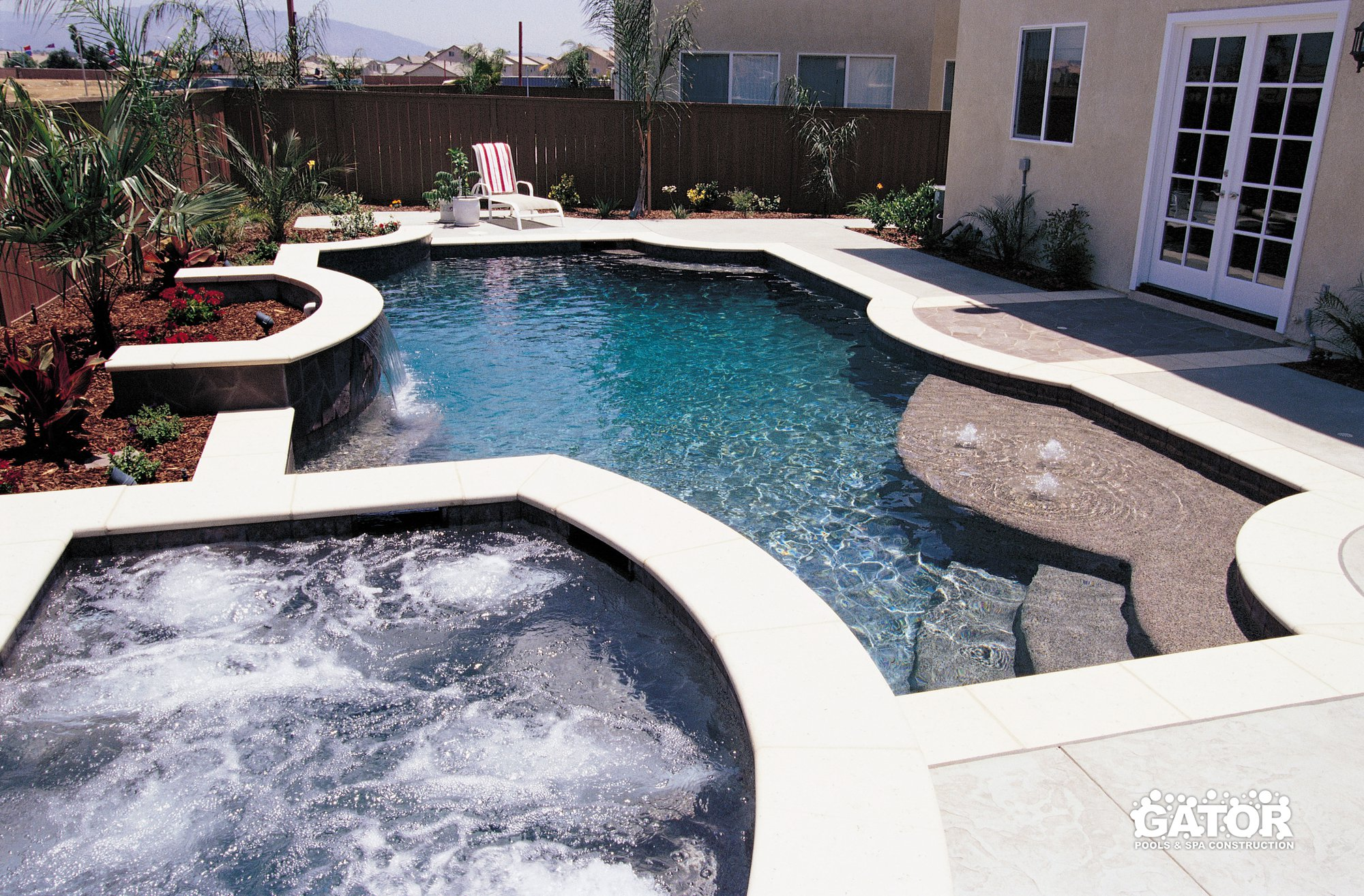 Custom concrete pool construction miami florida for Custom indoor pools